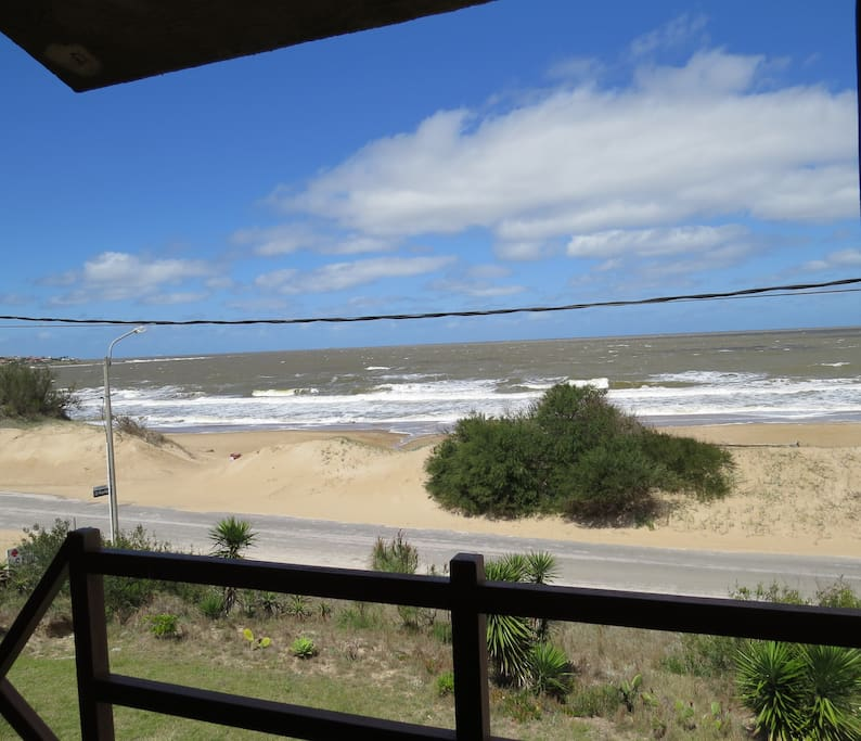 Hermosa vista desde el balcon