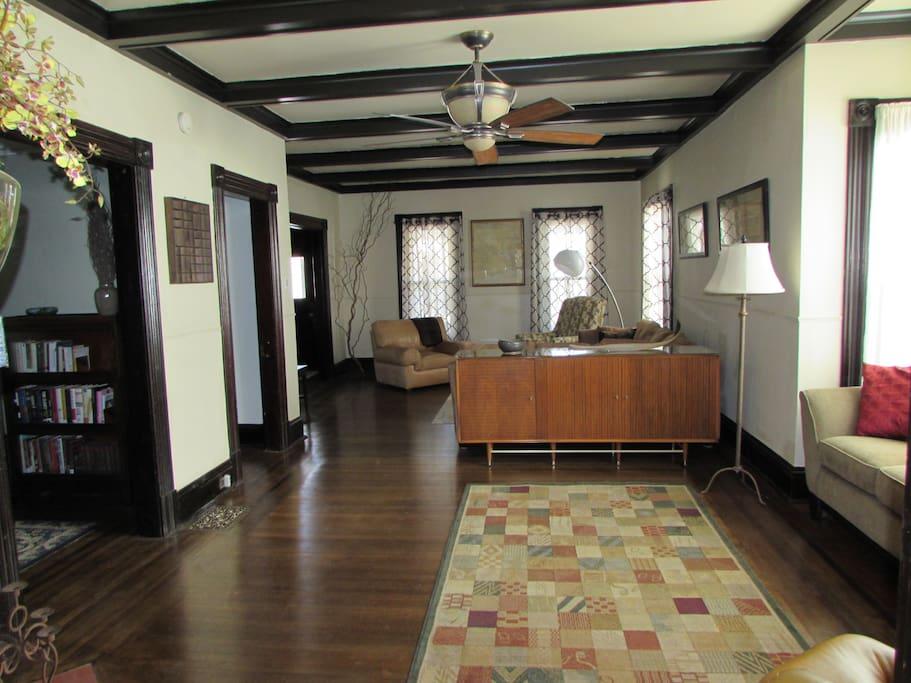Living Room from Dining Room door