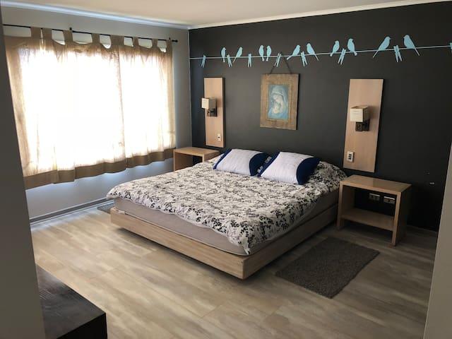Dormitorio 01, Principal en Suite