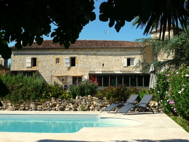 B&B Le Grand Cedre - Lavalade/Monpazier - Bed & Breakfast
