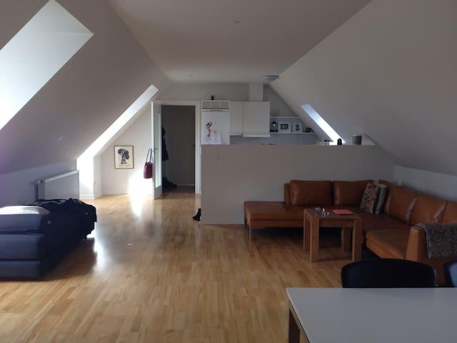 Stor bylejlighed i Svendborg - Svendborg - Appartement