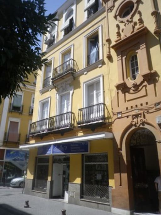 Apartamento en calle feria apartamentos en alquiler en for Servicio tecnico jane sevilla calle feria