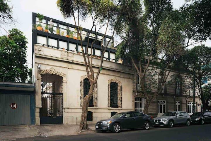 FAD architecture award housing project ROMA neigh - Città del Messico