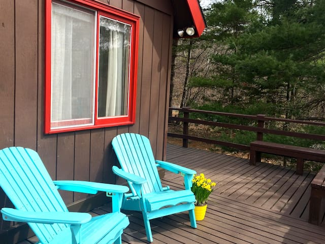Lovely, Welcoming Catskills Chalet - East Jewett - Rumah