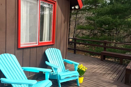 Lovely, Welcoming Catskills Chalet - East Jewett - Casa