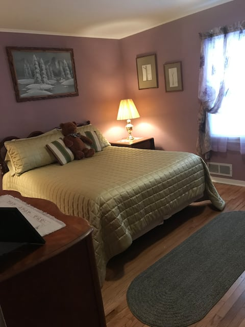 Families welcome and accommodated with ease.