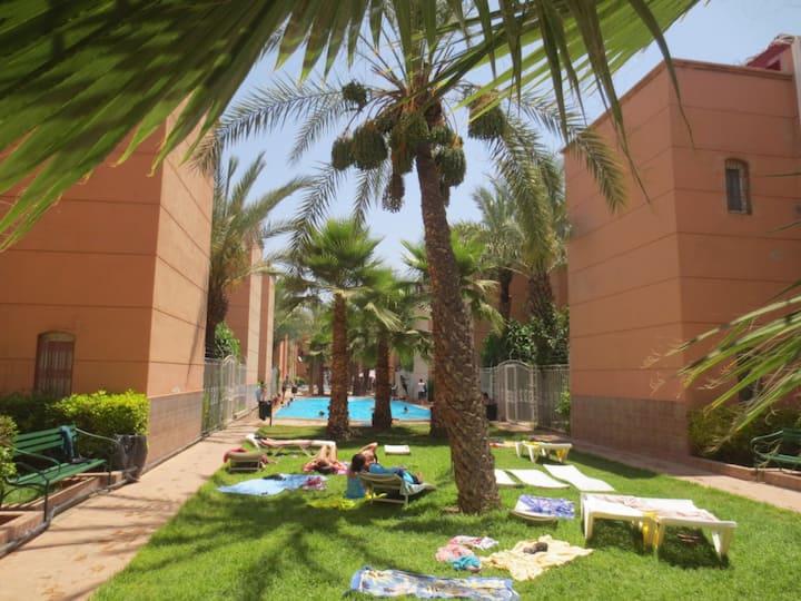 Morrocan traditionnal Riad House