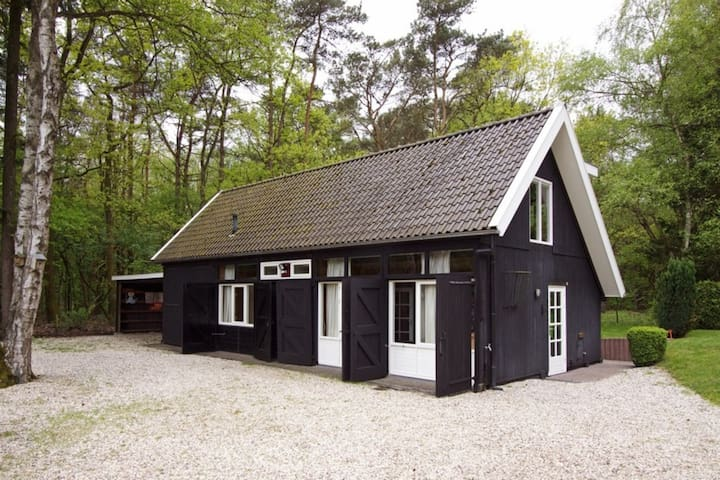 Boscottage prive wellness, op open plek in t bos - Nunspeet - Cabin