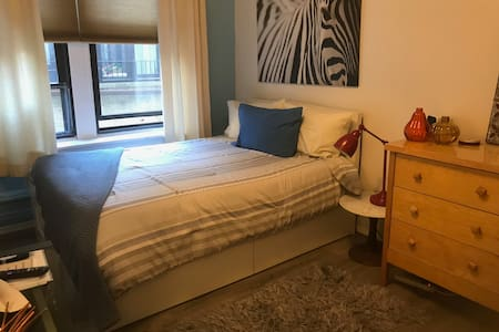Private bed/ bath in classic Upper West Side apt.