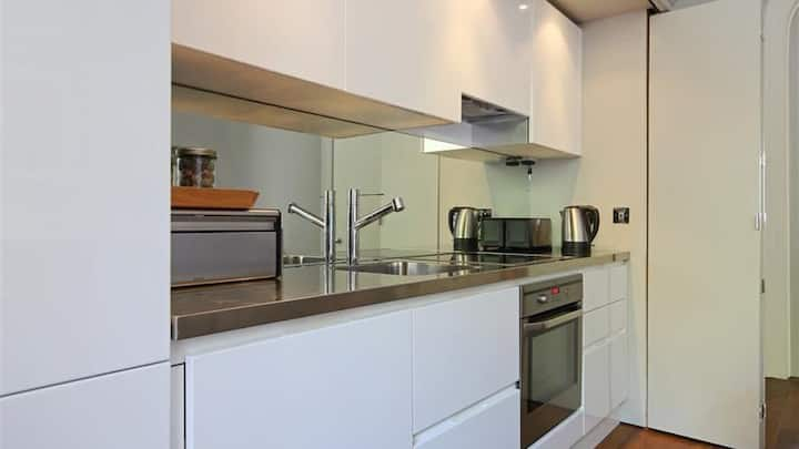 Spectacular apartment easy links to london.