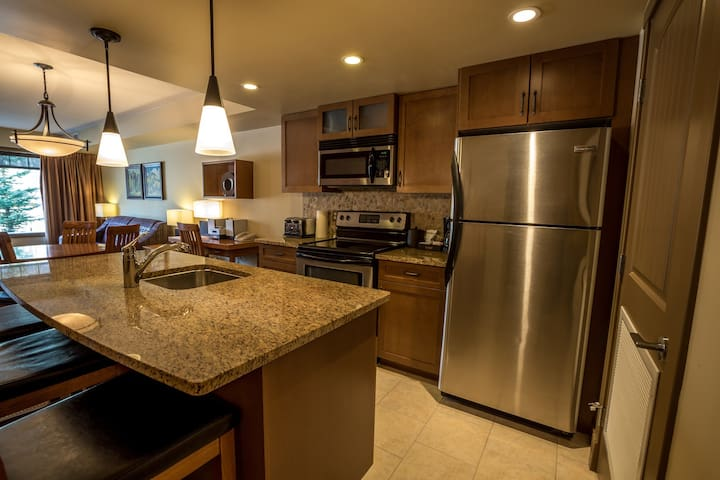 Spacious and Elegant 1 Bedroom Condo with Den and Private Balcony