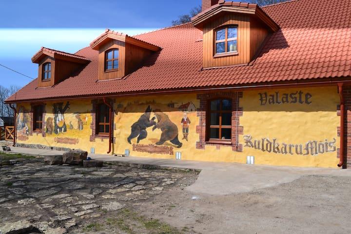 Kuldkaru Mõis - Kohtla vald - Dům