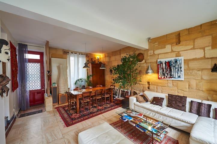 Maison 130 m2 centre de Bordeaux - Burdeos - Casa