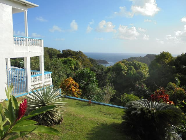 Tranquil location with great views - Calibishie - Appartement