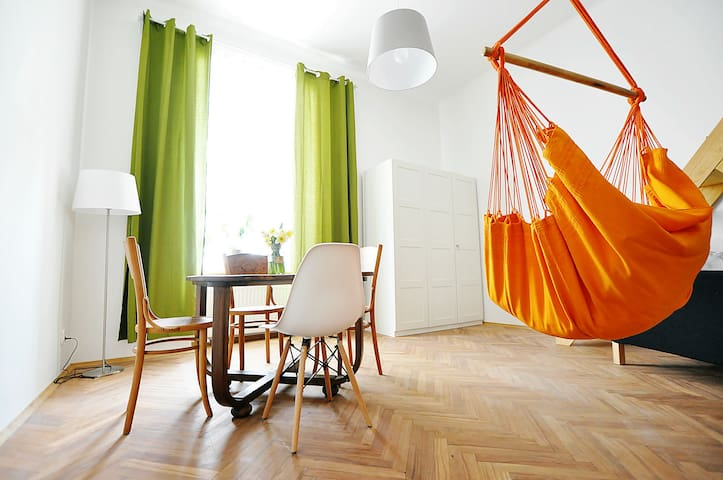 Funky apartment in Kraków's trendiest area