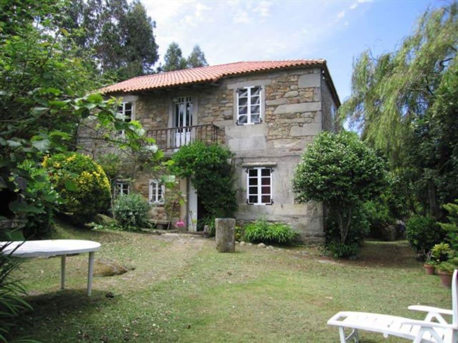 Casa de campo proxima a la playa villas en alquiler en - Casas de campo en galicia ...