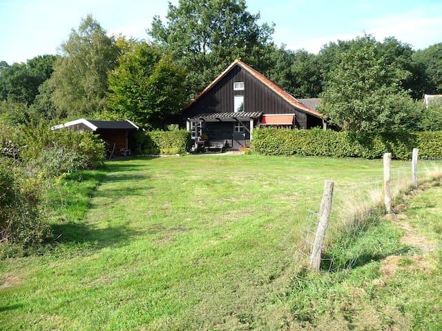 landelijk gelegen huisje salland overijssel - Olst - Blockhütte