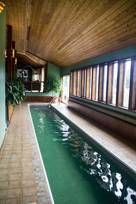 Indoor 40' Pool for Year Around Pleasure