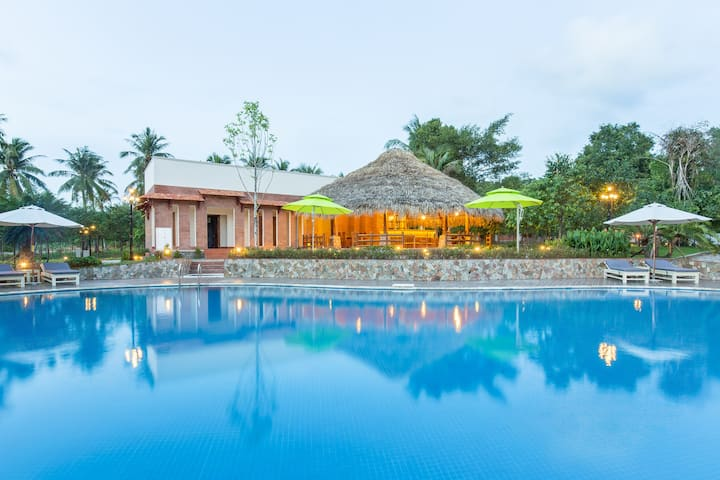 The Garden House Phu Quoc-Twin Garden View Room