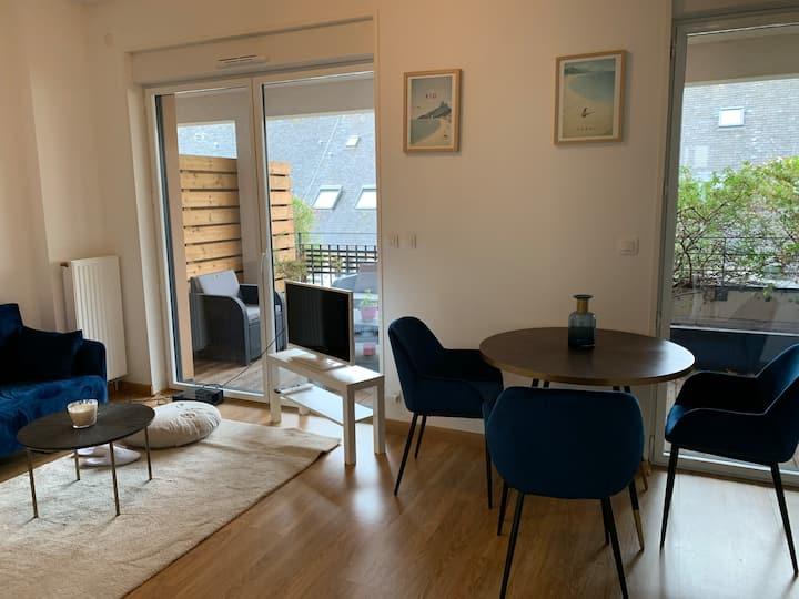Appartement avec terrasse et stationnement