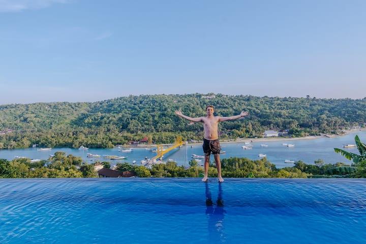 """""""Bukit Ancak Villa"""" sunriseview 1bedroomfor2"""