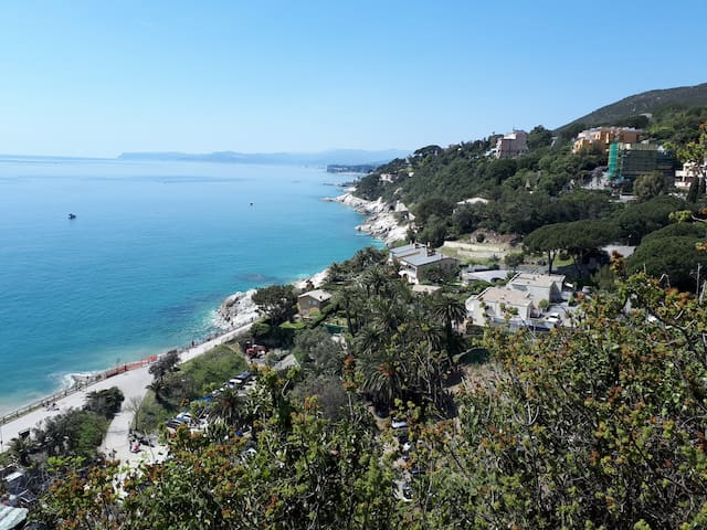 Belvedere - Apartment in Varazze. Great seaview