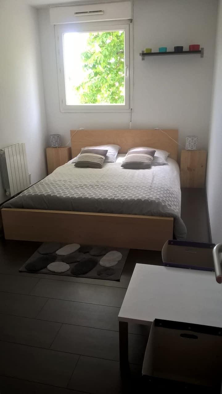 Appartement au 1er étage de 32 m2.