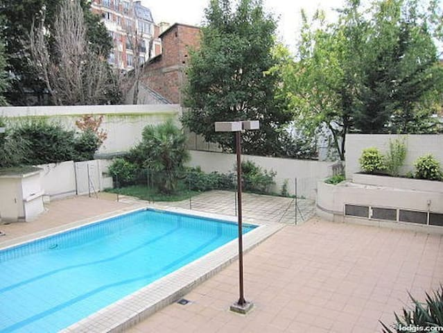 Architect's 2 Rooms - Swimming Pool - Montmartre