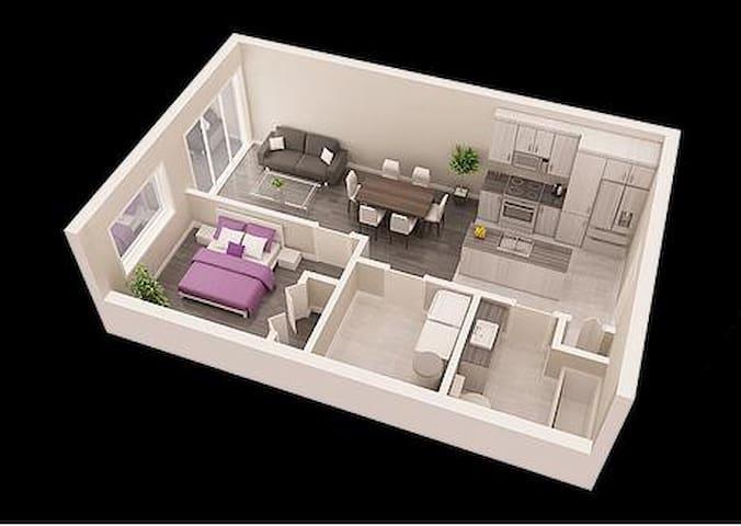 Condo in Le Boisé du Parc - Saint-Jérôme - Appartement en résidence