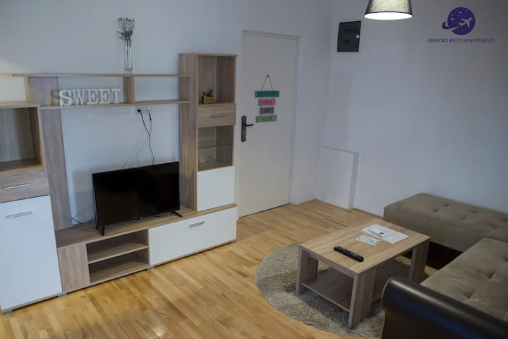 Airport Belgrade Rest Apartments Quadruple room 2