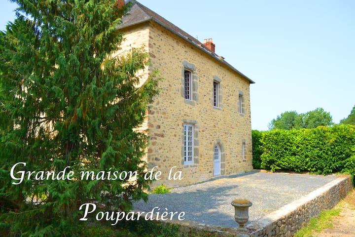 La grande maison de la Poupardière - La Baconniere - Dom