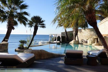 Villa plage privée (12 pers) Hyères - Carqueiranne