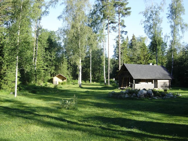 Private cabins in National Park Lahemaa
