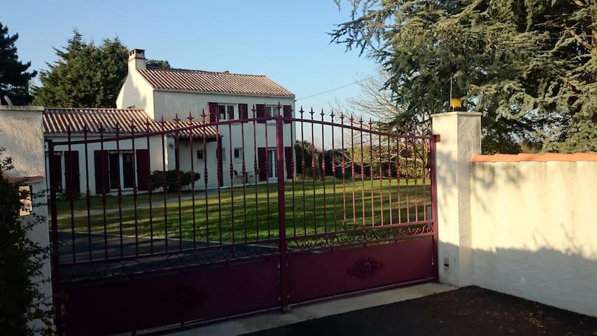 logement situé près du vignoble nantais au calme - Saint-Julien-de-Concelles - Apartment