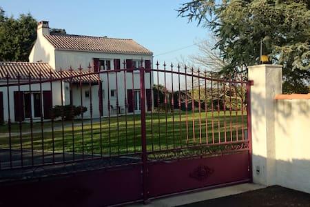 logement situé près du vignoble nantais au calme - Saint-Julien-de-Concelles - Flat