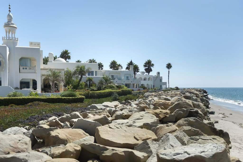 casablanca luxury beach estate houses for rent in