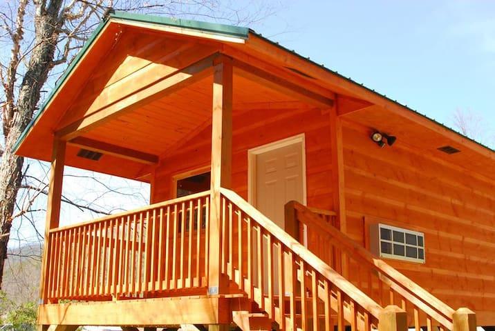 Riverside camping cabin #2