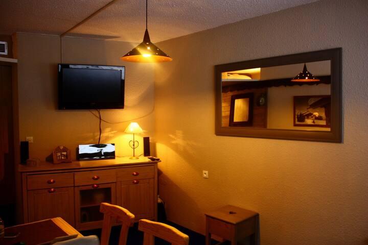 Arcs 1800 - Studio chaleureux et confortable