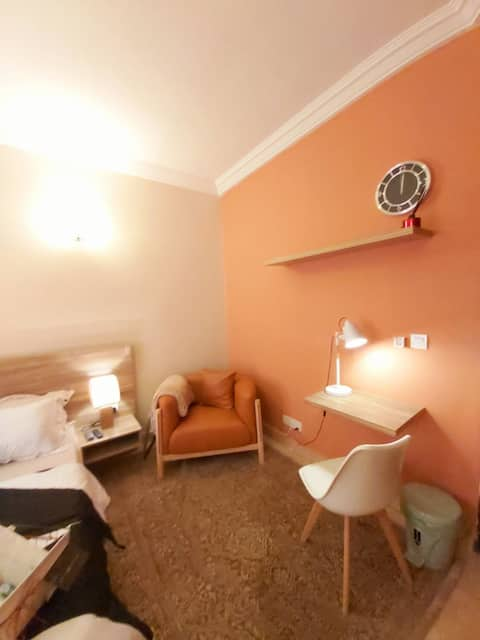 Restful bedroom. Wi-Fi+Board games+Generator