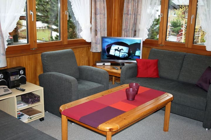 Chalet Herzog, (Flims Dorf), 323, 3.5 room apartment