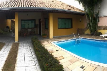 Água Marinha casa linda com piscina perto Basílica