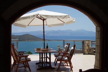 Exceptional, individual private villa - Elounda - Talo
