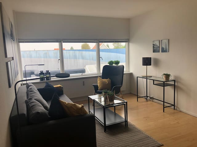 2 room apartment beds for 4, 8 km to Cph,h180108