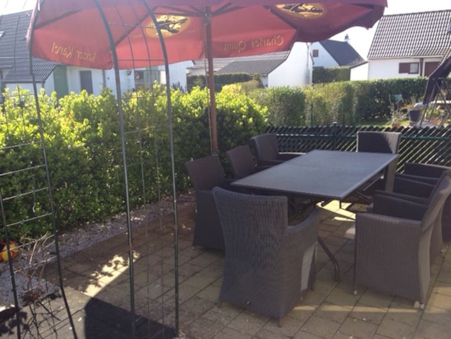 enjoy our terrace with lounge set!