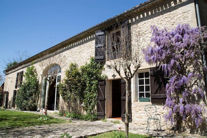 Chambre d'hôtes charme - Le Dropt - Landerrouet-sur-Ségur