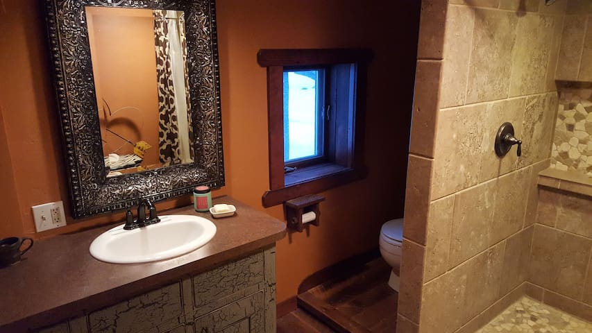 Lower Full Bathroom