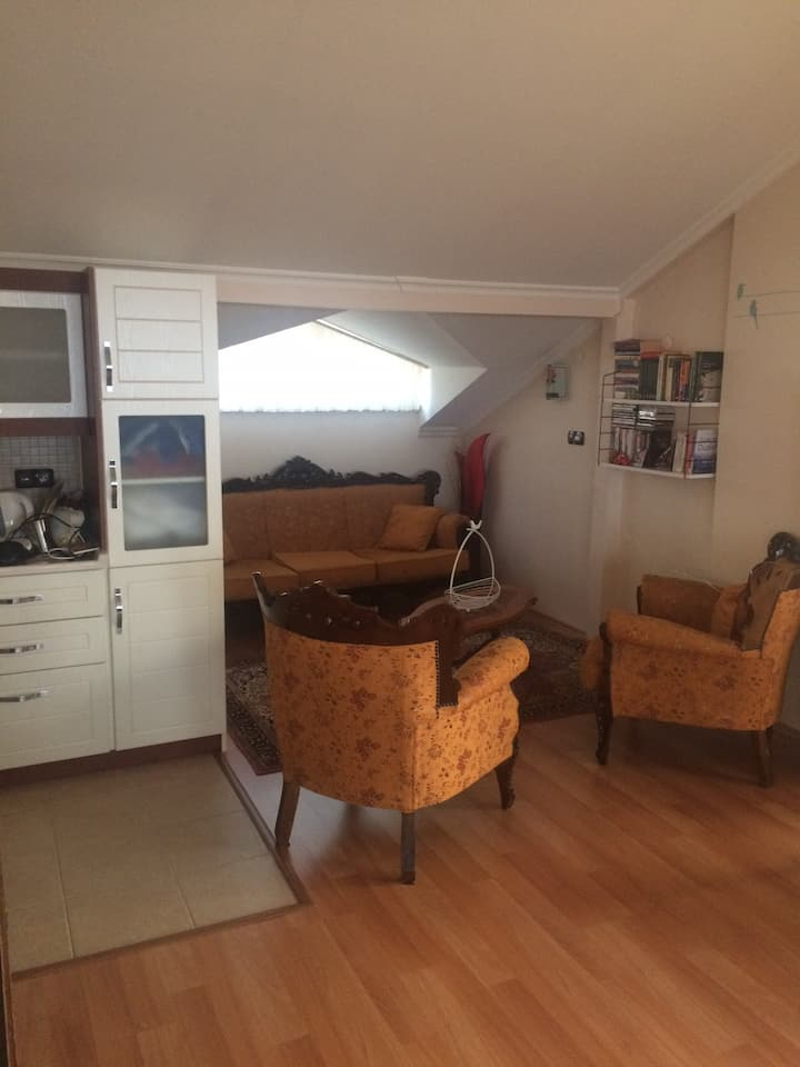 Villada teras katı oda