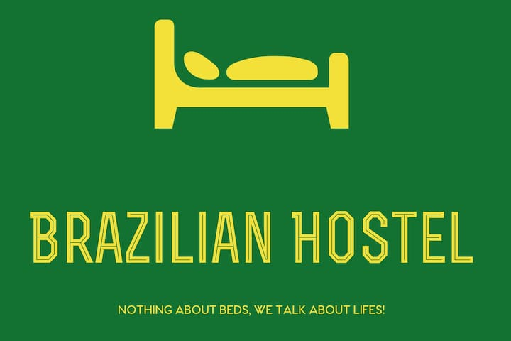 R3) Brazilian Hostel & Kitchen Shared 2 beds