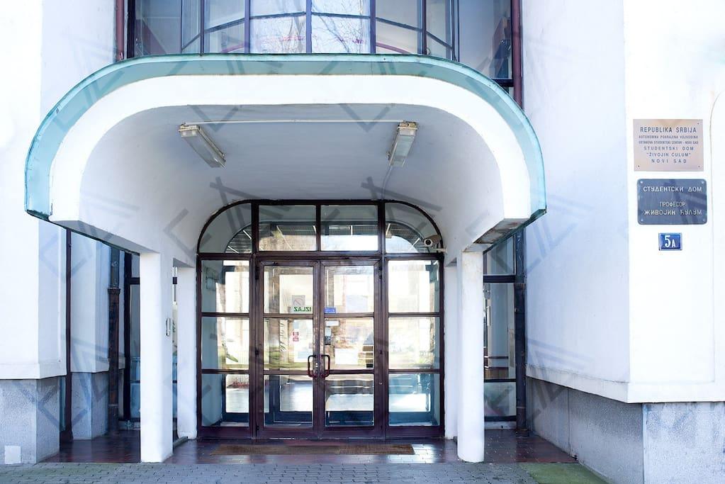 entrance building 1