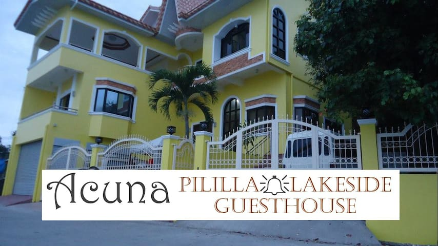 Acuna Pililla Lakeside Guesthouse (1 large room) - Pililla - Haus